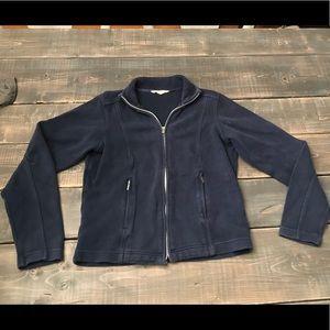Tommy Bahama Warm-up zipper Jacket Blue Small